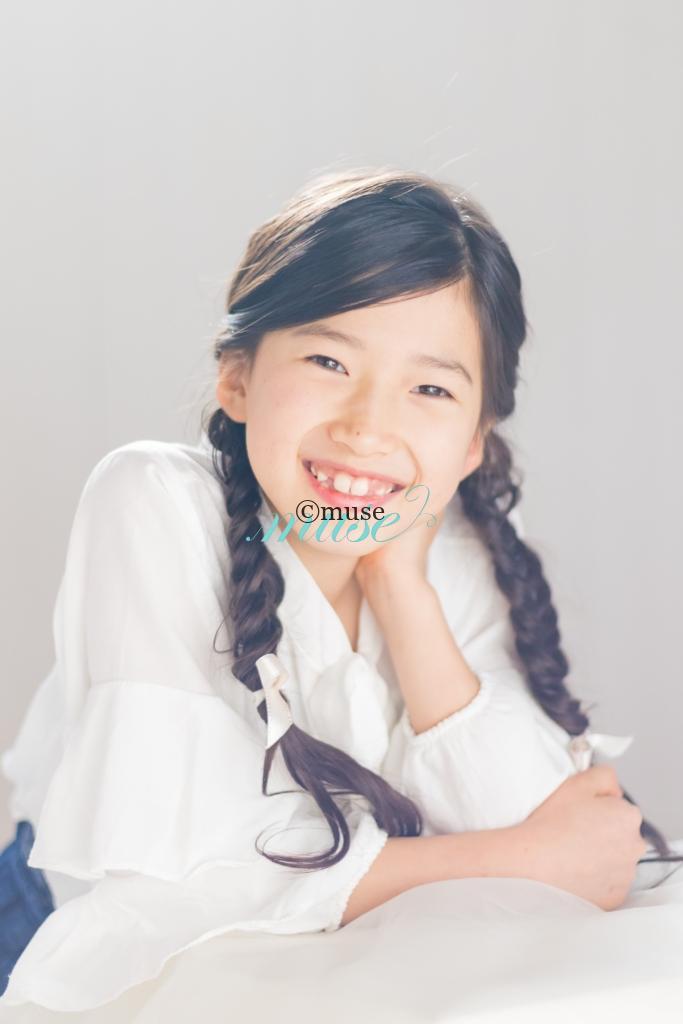 モデルスタジオミューズキッズモデル心桜